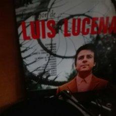Discos de vinilo: DISCO VINILO LO MEJOR DE LUIS LUCENA. Lote 104177827
