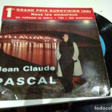 Discos de vinilo: EP JEAN CLAUDE PASCAL NOUS LES AMIREUX . Lote 104178311