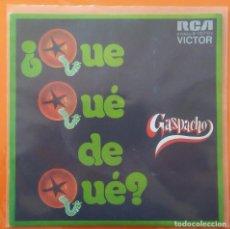 Discos de vinilo: GAZPACHO. Lote 104178491