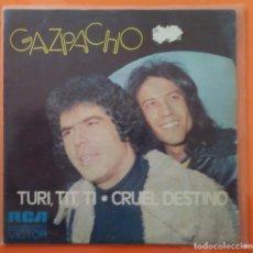 Discos de vinilo: GAZPACHO. Lote 104178683