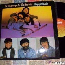 Discos de vinilo: LA CHARANGA DEL TIO HONORIO - HAY QUE LAVALO ( CBS 1976) OG ESPAÑA BIZARRE KILLERS BOMBA TNT ESPIAS. Lote 104180063