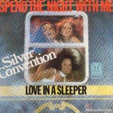 Discos de vinilo: SILVER CONVENTION - SINGLE 1978. Lote 104189959