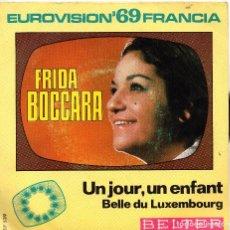 Discos de vinilo: FRIDA BOCCAEA - SINGLE 1969 EUROVISIÓN. Lote 104190055