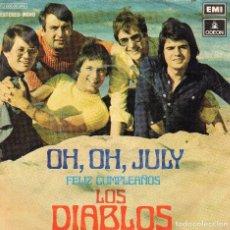 Discos de vinilo: LOS DIABLOS - SINGLE 1972. Lote 104190351