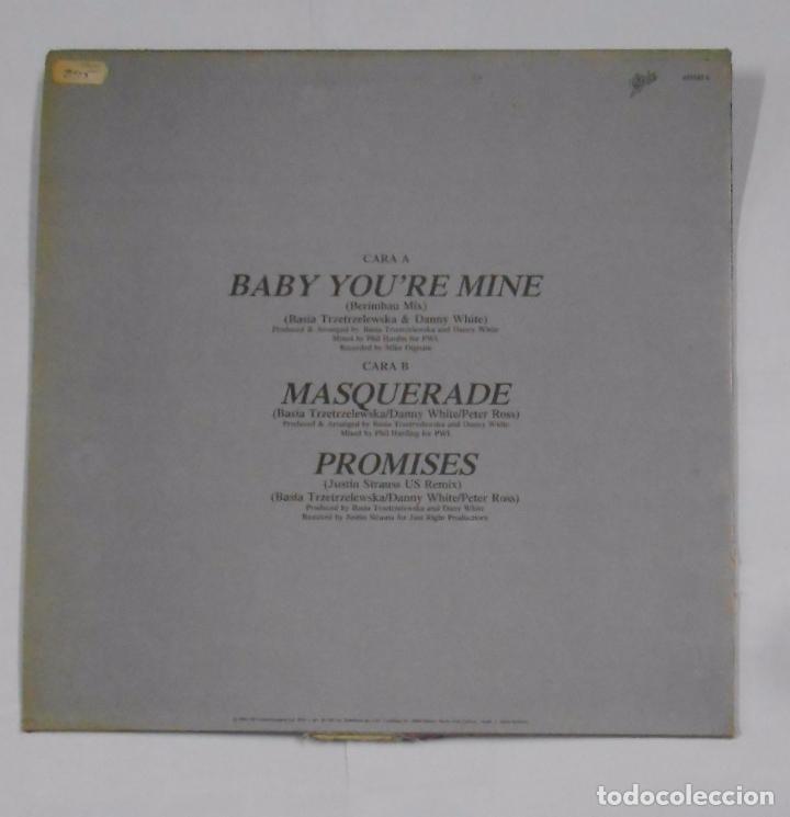 Discos de vinilo: BASIA. BABY YOU'RE MINE. BERIMBAU MIX. MAXI-SINGLE. TDKDA24 - Foto 2 - 104190411