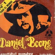 Discos de vinilo: DANIEL BOONE - SINGLE 1972. Lote 104190567