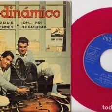 Discos de vinilo: DUO DINAMICO - EXODUS - EP DE VINILO - VINILO ROJO. Lote 104195599
