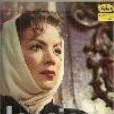 Discos de vinilo: MARIA FELIX 10¨ (25 CTMS) DE LA PELICULA LA ESCONDIDA SELLO MUSART EDITADO EN MEXICO. CUCO SANCHEZ... Lote 104201943
