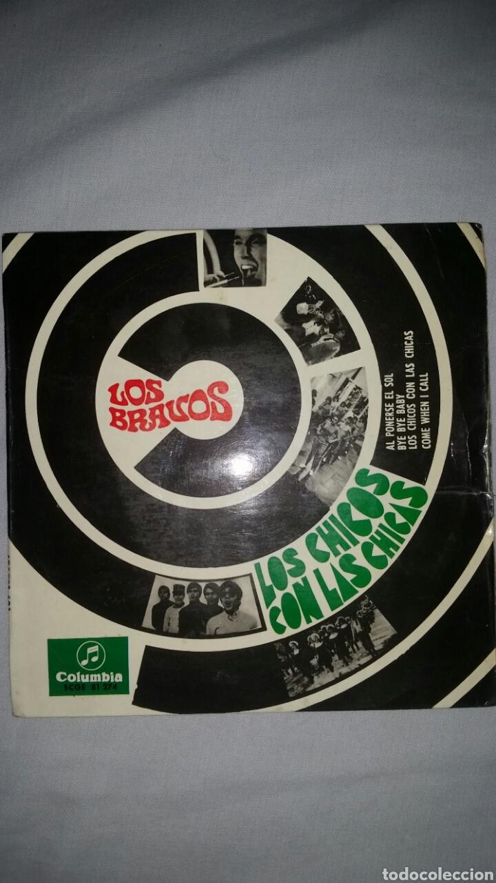 LOS BRAVOS LOS CHICOS CON LAS CHICAS COLUMBIA (Música - Discos - Singles Vinilo - Grupos Españoles 50 y 60)