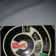 Discos de vinilo: LOS BRAVOS LOS CHICOS CON LAS CHICAS COLUMBIA. Lote 104210450