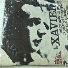 Discos de vinilo: XAVIER- LONGA NOITE DE PEDRA +3 -EP-EDIGSA-N.. Lote 104210607