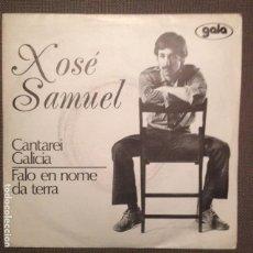 Discos de vinilo: XOSE SAMUEL:CANTAREI GALICIA, FALO EN NOME DA TERRA (ROSALIA DE CASTRO-C. E. FERREIRO)1976. Lote 104210663