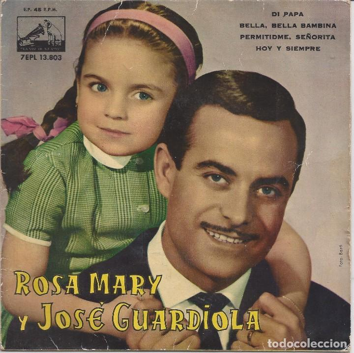 ROSA MARY Y JOSÉ GUARDIOLA (Música - Discos - Singles Vinilo - Solistas Españoles de los 50 y 60)