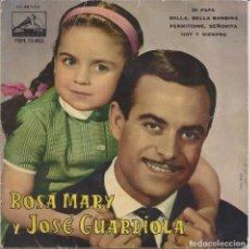 Discos de vinilo: ROSA MARY Y JOSÉ GUARDIOLA. Lote 104214743