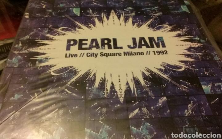 Lp vinilo pearl jam - live milano 1992