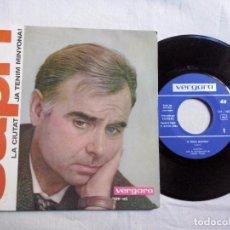 Discos de vinilo: MUSICA SINGLE: JOAN CAPRI - LA CIUTAT / JA TENIM MINYONA (ABLN). Lote 104237847