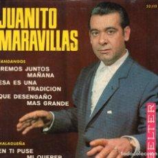 Discos de vinilo: FLAMENCO - JUANITO MARAVILLAS - EP1967. Lote 104240095