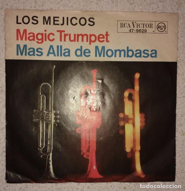 LOS MEJICOS. MÁGIC TRUMPET. MÁS ALLÁ DE MOMBASA (Música - Discos - Singles Vinilo - Country y Folk)