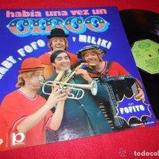 Discos de vinilo: LOS PAYASOS DE TVE. Lote 104242503