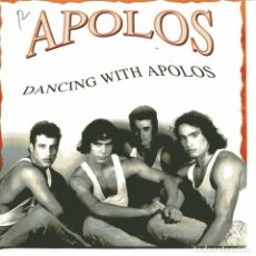 Discos de vinilo: APOLOS - DANCING WITH APOLOS (SINGLE PROMO ESPAÑOL, EMI 1991). Lote 104257219