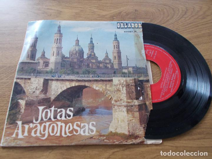 JOTAS ARAGONESAS. ENCARNITA RODRIGUEZ. (Música - Discos - Singles Vinilo - Étnicas y Músicas del Mundo)