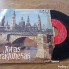 Discos de vinilo: JOTAS ARAGONESAS. ENCARNITA RODRIGUEZ.. Lote 104261443