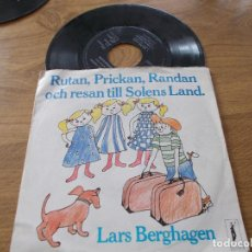 Discos de vinilo: RUTAN,PRICKAN,RANDAN OCH RESAN TILL SOLENS LAND,. Lote 104262607