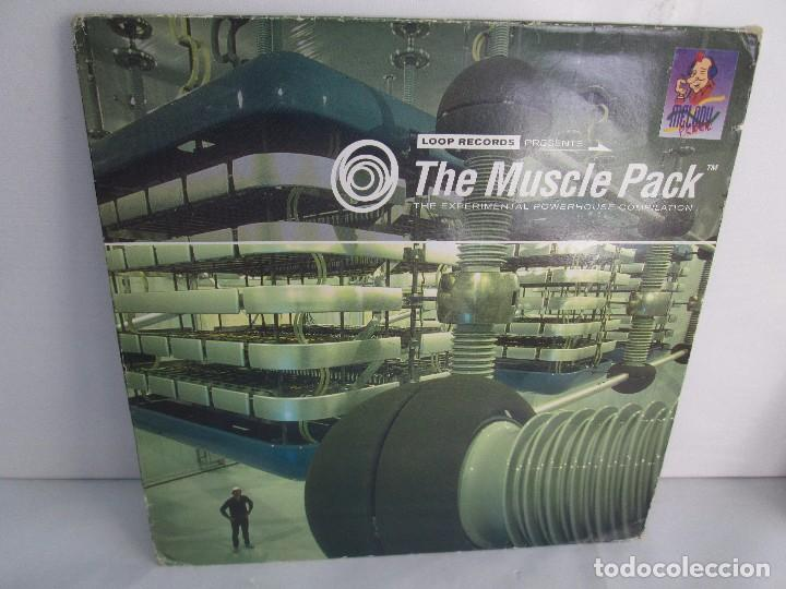 THE MUSCLE PACK. THE EXPERIMENTAL POWEHOUS COMPILATION. EP VINILO .DOS DISCOS. LOOP RECORDS 1996 (Música - Discos - Singles Vinilo - Electrónica, Avantgarde y Experimental)