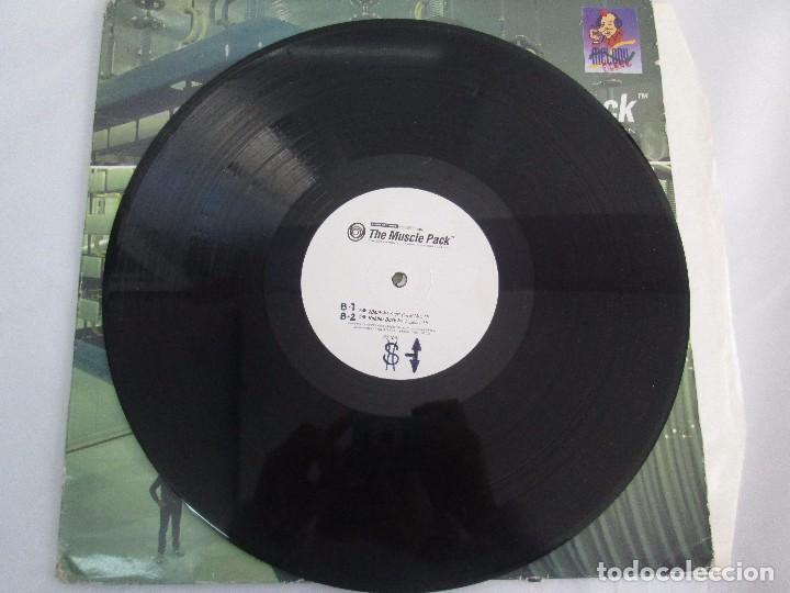 Discos de vinilo: THE MUSCLE PACK. THE EXPERIMENTAL POWEHOUS COMPILATION. EP VINILO .DOS DISCOS. LOOP RECORDS 1996 - Foto 5 - 104262947