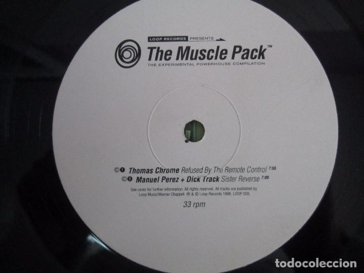Discos de vinilo: THE MUSCLE PACK. THE EXPERIMENTAL POWEHOUS COMPILATION. EP VINILO .DOS DISCOS. LOOP RECORDS 1996 - Foto 8 - 104262947