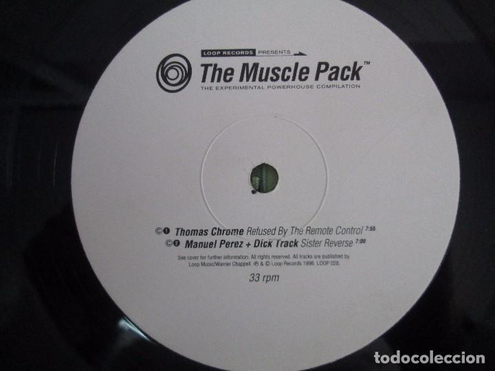 Discos de vinilo: THE MUSCLE PACK. THE EXPERIMENTAL POWEHOUS COMPILATION. EP VINILO .DOS DISCOS. LOOP RECORDS 1996 - Foto 8 - 104262947