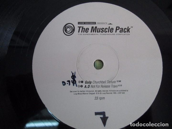 Discos de vinilo: THE MUSCLE PACK. THE EXPERIMENTAL POWEHOUS COMPILATION. EP VINILO .DOS DISCOS. LOOP RECORDS 1996 - Foto 10 - 104262947
