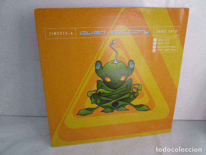 ALIEN FACTORY. EP VINILO. TIME UNLIMITED 1997. VER FOTOGRAFIAS ADJUNTAS (Música - Discos - Singles Vinilo - Electrónica, Avantgarde y Experimental)