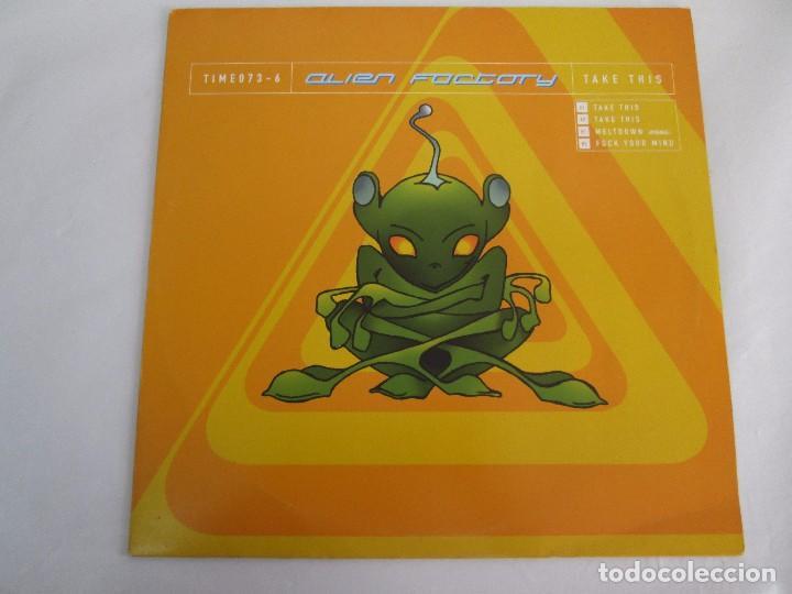 Discos de vinilo: ALIEN FACTORY. EP VINILO. TIME UNLIMITED 1997. VER FOTOGRAFIAS ADJUNTAS - Foto 2 - 104263323