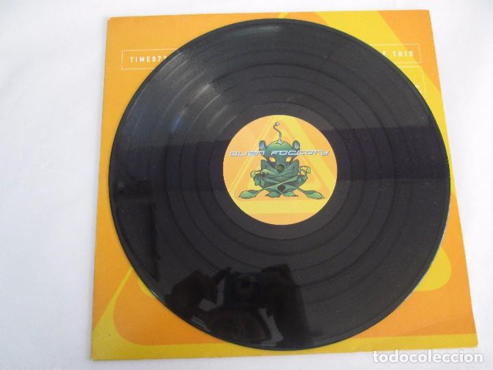 Discos de vinilo: ALIEN FACTORY. EP VINILO. TIME UNLIMITED 1997. VER FOTOGRAFIAS ADJUNTAS - Foto 3 - 104263323