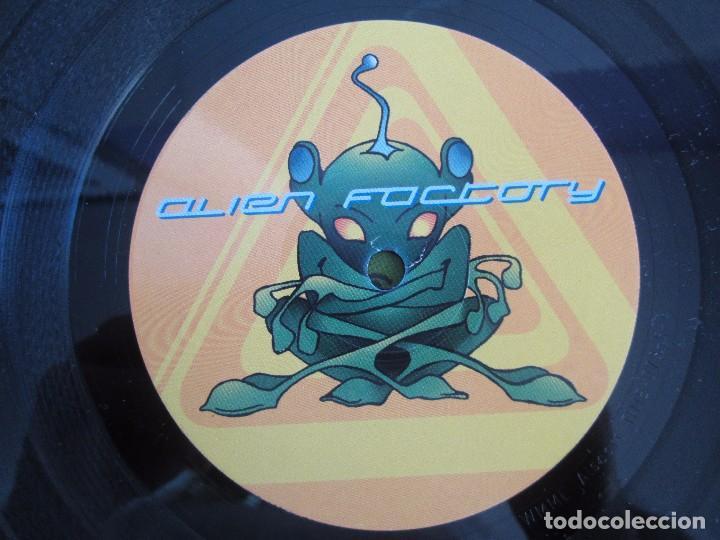 Discos de vinilo: ALIEN FACTORY. EP VINILO. TIME UNLIMITED 1997. VER FOTOGRAFIAS ADJUNTAS - Foto 4 - 104263323