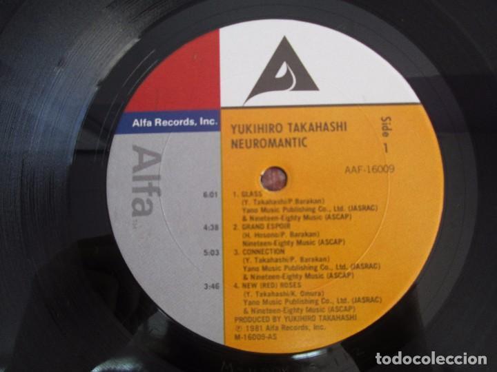 Discos de vinilo: YOKIHIRO TAKAHASHI. NEUROMANTIC. LP VINILO. ALFA RECORDS 1981. VER FOTOGRAFIAS ADJUNTAS - Foto 4 - 104263843