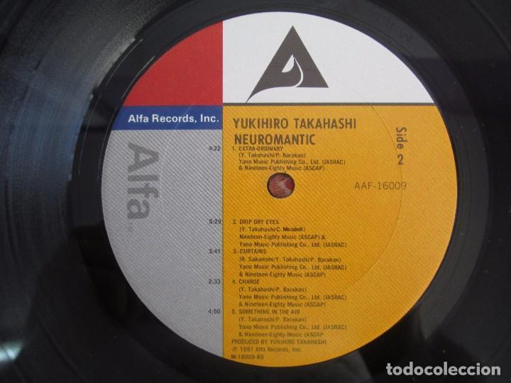 Discos de vinilo: YOKIHIRO TAKAHASHI. NEUROMANTIC. LP VINILO. ALFA RECORDS 1981. VER FOTOGRAFIAS ADJUNTAS - Foto 6 - 104263843