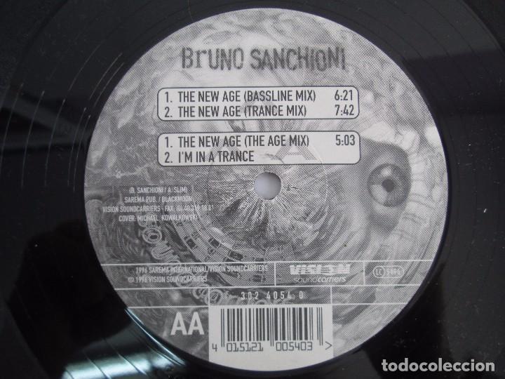 Discos de vinilo: BRUNO SANCHIONI. EP VINILO. VISION SOUNDCARRIERS 1996. VER FOTOGRAFIAS ADJUNTAS - Foto 6 - 104265983