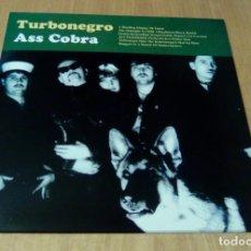Discos de vinilo: TURBONEGRO - ASS COBRA (LP REEDICIÓN) NUEVO. Lote 116301542