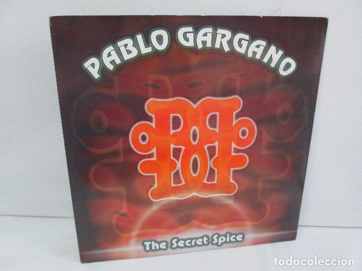 PABLO GARGANO. THE SECRET SPICE. MAXI SINGLE 1997. MAX MUSIC EDICIONES. VINILO. VER FOTOGRAFIAS ADJU (Música - Discos - Singles Vinilo - Electrónica, Avantgarde y Experimental)