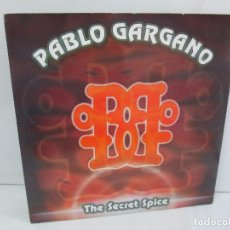 Discos de vinilo: PABLO GARGANO. THE SECRET SPICE. MAXI SINGLE 1997. MAX MUSIC EDICIONES. VINILO. VER FOTOGRAFIAS ADJU. Lote 104267267