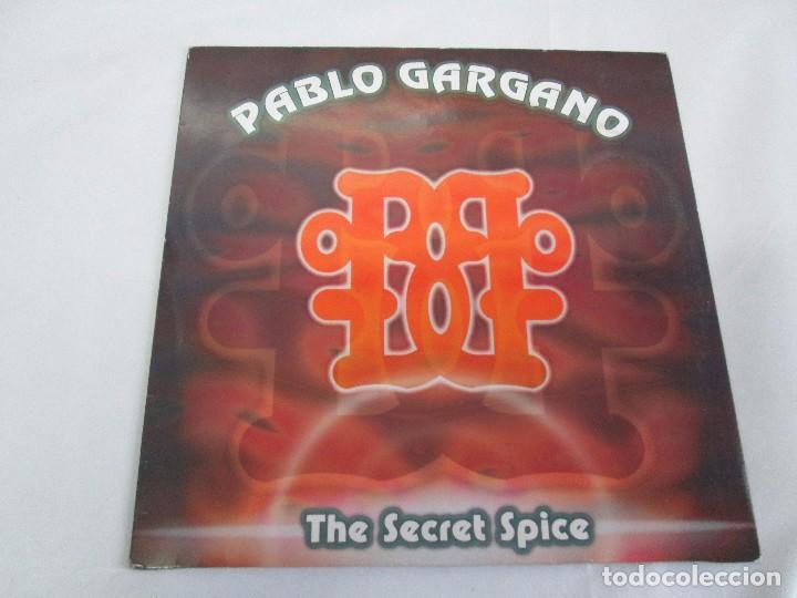 Discos de vinilo: PABLO GARGANO. THE SECRET SPICE. MAXI SINGLE 1997. MAX MUSIC EDICIONES. VINILO. VER FOTOGRAFIAS ADJU - Foto 2 - 104267267