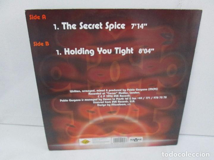 Discos de vinilo: PABLO GARGANO. THE SECRET SPICE. MAXI SINGLE 1997. MAX MUSIC EDICIONES. VINILO. VER FOTOGRAFIAS ADJU - Foto 9 - 104267267