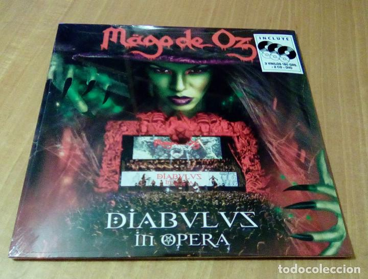 Mago De Oz Diabulus In Opera 3lp 2cd Dvd Sold Through Direct Sale 104267843