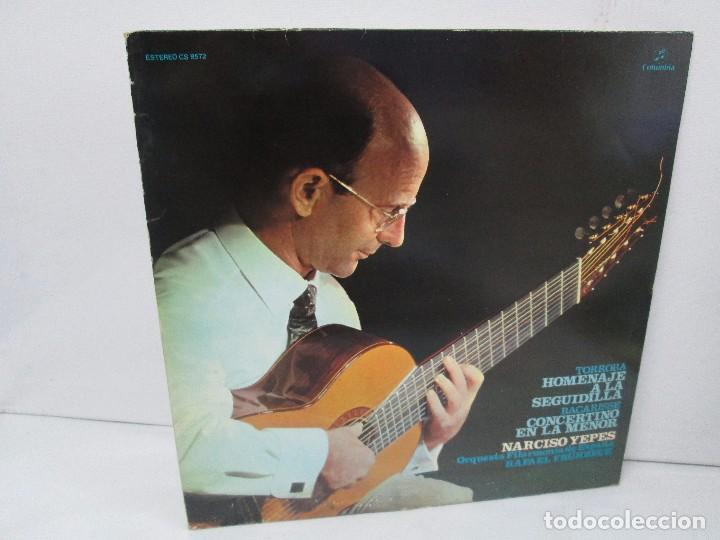 NARCISO YEPES ORQUESTA FILARMONICA DE ESPAÑA. RAFAEL FRÜHBECK. TORROBA. BACARISSE. VINILO (Música - Discos - Singles Vinilo - Orquestas)