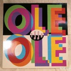 Discos de vinilo: OLE OLE, 1990, LP EDICION ESPAÑOLA 1990, HISPAVOX.. Lote 104279607