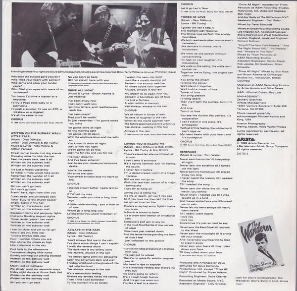 Discos de vinilo: dion & the belmonts - yo frankie - lou reed, patty smith,p simon, doo-wop - org edt + inserto, ex - Foto 5 - 104280304
