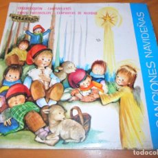 Discos de vinilo: CORO INFANTIL - VILLANCICOS: CHIQUIRRIQUITIN/ VAMOS PASTORCILLOS/ CAMPANITAS DE NAVIDAD +1- EP 1966. Lote 104286775