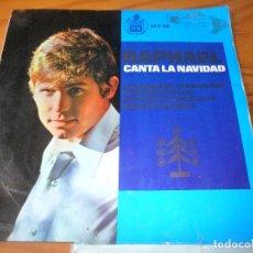 Discos de vinilo: RAPHAEL EP 1965 , CANTA A LA NAVIDAD. Lote 104286959